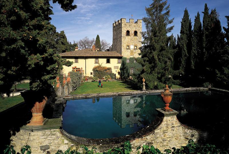 Fattoria castello di verrazzano terre di firenze for Planimetrie storiche della fattoria